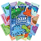 Game Accolades - Go Fish - Ocean Edition Card Game - Ages 3 and up