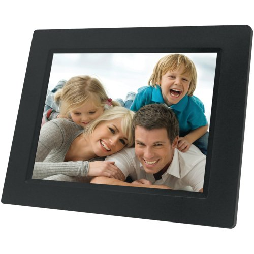 "7"" Digital Photo Frame Black"
