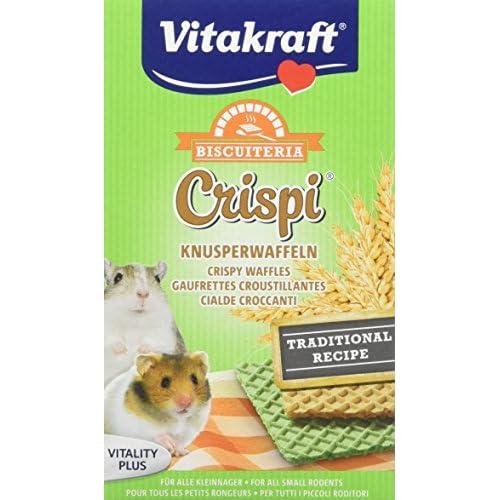 Vitakraft - Cialde Crispi'S per roditori, 10 g