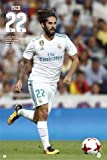 Fußball - Poster - Real Madrid - ISCO 17/18 + Ü-Poster