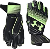 Under Armour Magnetico Guantes, Hombre, Negro (Black/Lime Light 001), 9