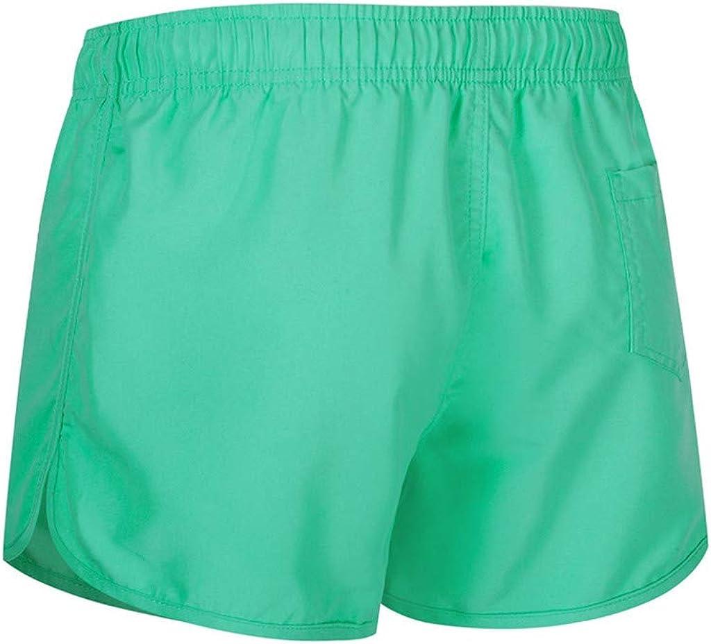 Burband Men Swim Trunks Quick Dry 80s 90s Vintage Athletic Stretch Swimming Shorts Workout Running Shorts Boardshorts
