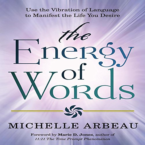 The Energy of Words audiobook cover art