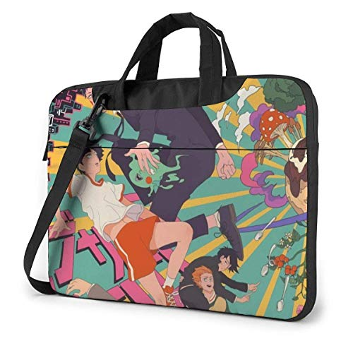 Mob Psycho 100 Anime Laptop Shoulder Menger Bag Tablet Computer Storage Bapa Bolso