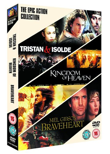 Epic Action Triple - Kingdom of Heaven/Tristan and Isolde [Import anglais]