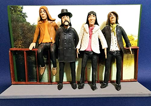 Figur - Action Figures Pink Floyd mit dem Hintergrund Landschaft von St. James Park