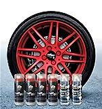 Sophisticauto Full Dip Packs Ahorro Llantas 6 Sprays Rojo Metalizado Brillo