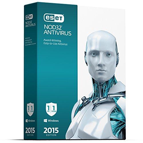 ESET NOD32 Antivirus - 2015 Edition - 1 User V.8