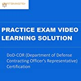 CERTSMASTEr DoD-COR (Department of Defense Contracting Officer's Representative) Certification Practice Exam Video Learning Solutions