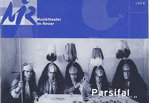 Programmheft Richard Wagner PARSIFAL Premiere 6 Dezember 2003 Spielzeit 2003 / 2004 Heft 22