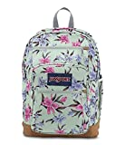 JanSport Cool Student 15-inch Laptop Backpack - Classic School Bag, Vintage Irises, One Size