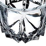 KADAX Trinkgläser aus hochwertigem Glas, 6er Set, Wassergläser, dickwandige Saftgläser, geriffelte Gläser für Wasser, Drink, Saft, Party, Cocktailgläser, Getränkegläser (hoch, 330ml) - 7