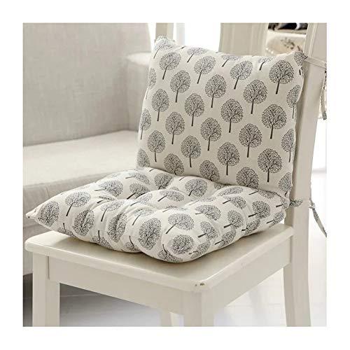 Cuscini rettangolari in vimini con lacci, per sedia a dondolo o divano, 40 x 80 cm 6