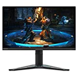 Lenovo G27-20 27-inch Gaming Monitor, FHD (1920 x 1080), IPS, 144Hz, 1ms, FreeSync Premium and NVIDIA G-SYNC Compatible, NearEdgeless, VESA Mount, Height and Tilt Adjust, HDMI, DP, 66C2GCC1US, Black