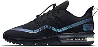 Nike Air Max Sequent 4 Utility, Men's Shoes, Multicolour (Black/Racer Blue/Thunder Grey 005), 10.5 UK (44.5 EU) (NKAV3236_005)