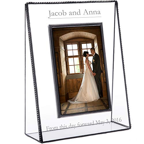 Best Clear Glass Photo Frame for Wedding Anniversary