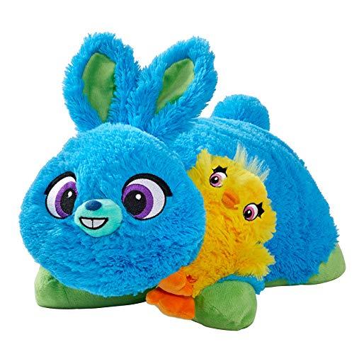 "Pillow Pets Bunny 16"" & Ducky Mini Plush - Disney Toy Story 4 Stuffed Animal Set"
