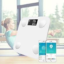 BXKEJI ميزان إلكتروني رقمي للدهون في الحمام للأرضيات بلوتوث ذكي عالي الدقة لا سلكي موازين أدوات قياس الوزن المنزلية