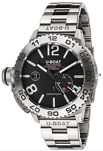 Doppiotempo orologio Uomo Analogico Automatico con cinturino in Acciaio INOX 9099/MT
