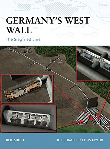 Germany's West Wall: The Siegfried Line (Fortress, Band 15)