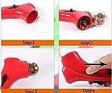 Aeeque® Hund Katze Spielzeug / Interaktiv / Haustier Futter Sender / mit ablösbar Schwarz Tragegurt – Farbe zufällig (Blau oder Rot) - 2