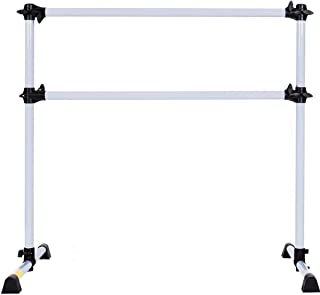 Barres&More - 4 FT Double Portable Freestanding Ballet Barre - Multiple Colors