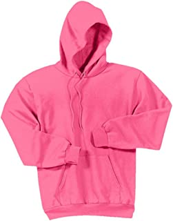 Joe's USA - Hoodies-Pullover Hooded Sweatshirt-Neon.Pink-S