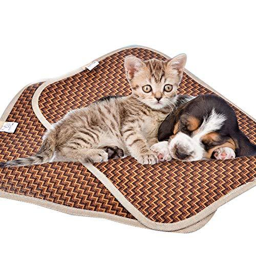 Almohadilla Para Mascotas Estera De Enfriamiento Para El Verano Esteras Para Perros Esteras Azul Almohadilla Para El Hielo Para Mascotas Frío Seda Fría A Prueba De Humedad Enfriador Colchón Cojín