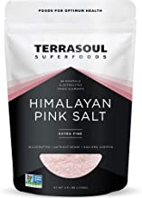 Terrasoul Superfoods Himalayan Pink Salt, 2.5 Lbs - Extra Fine | Trace Minerals