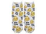 Unbekannt Socken bunt mit lustigen Motiven Print Socken Motivsocken Damen Herren ALSINO, Variante wählen:SO-L085 Bitch Please