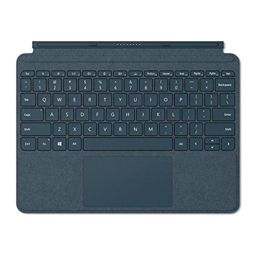 Microsoft Surface Go Alcantara Signature Type Cover, Model 1840 (KCS-00021) Cobalt Blue
