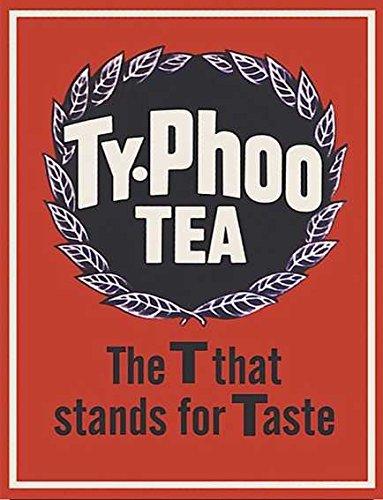 Ty-phoo Tea - Imán para nevera (acrílico, estilo retro, shabby chic, estilo vintage, se puede utilizar una placa)