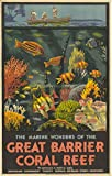 Eliteprint Vintage-Poster, Australien-Reisetourismus, Great