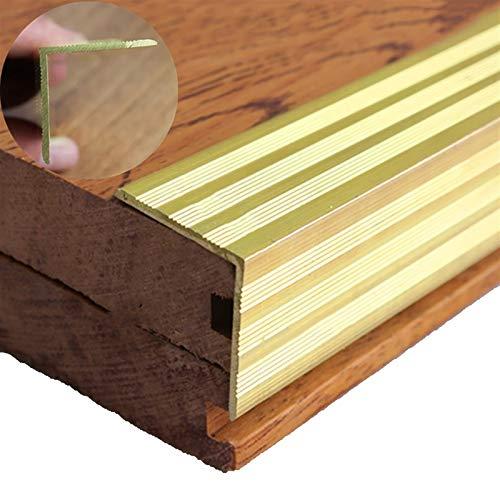 Perfil de transición Tira de piso de madera Tira de borde T