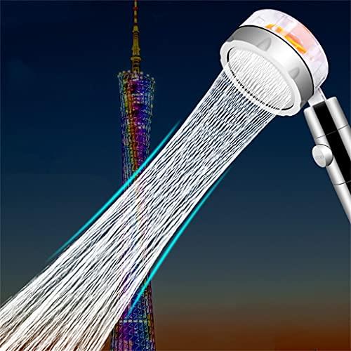 HEEYEE Duschkopf, Handbrause Hochdruck 360 Pressure Water Saving Spray Shower Head Bathroom Hand Housing Pressure Massage Shower Head Red