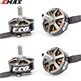 DishyKooker E-max ECO Series 2306 6S 1700KV 4S 2400KV Brushless Motor for RC Models Spare Part DIY Accessories 2400KV 4PCS Quadcopter Drone RC Drones for Kids and Adults