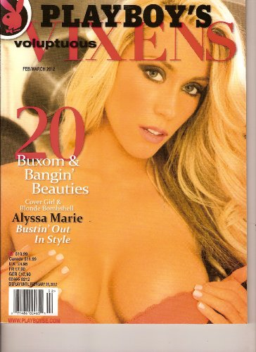 Playboy's Voluptuous Vixens (February/March 2012, Alyssa Marie)