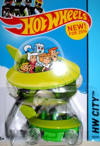 Hot Wheels, 2014 The Jetsons Capsule Car #90/250 by Hot Wheels