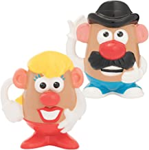 (Set) Mr And Mrs Potato Head 20 Ounce Ceramic Coffee Cup Mugs - Gift Boxed
