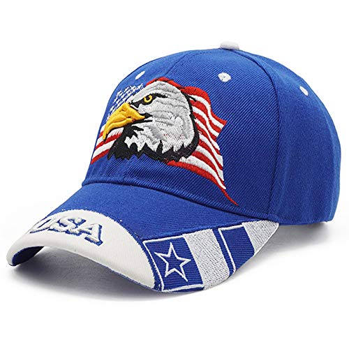 JKJKL Gorra De Béisbol Águila Usa Bandera Camuflaje Gorra...
