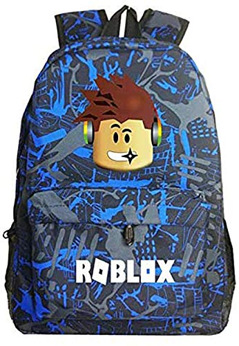 Lelestar Kids Backpack Luminous Daypack-Roblox School Bookbag Laptop...