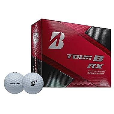 Bridgestone Golf 2018 Tour B RX Golf Balls, White (One Dozen)