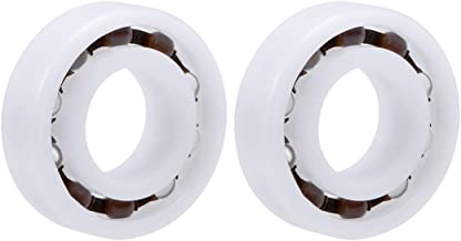 uxcell 6003 POM Plastic Bearings 17x35x10mm Glass Ball Nylon Cage Pack of 2