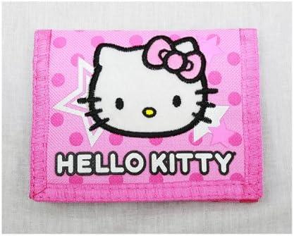 Sanrio Hello Kitty Tri Fold Pink Wallet