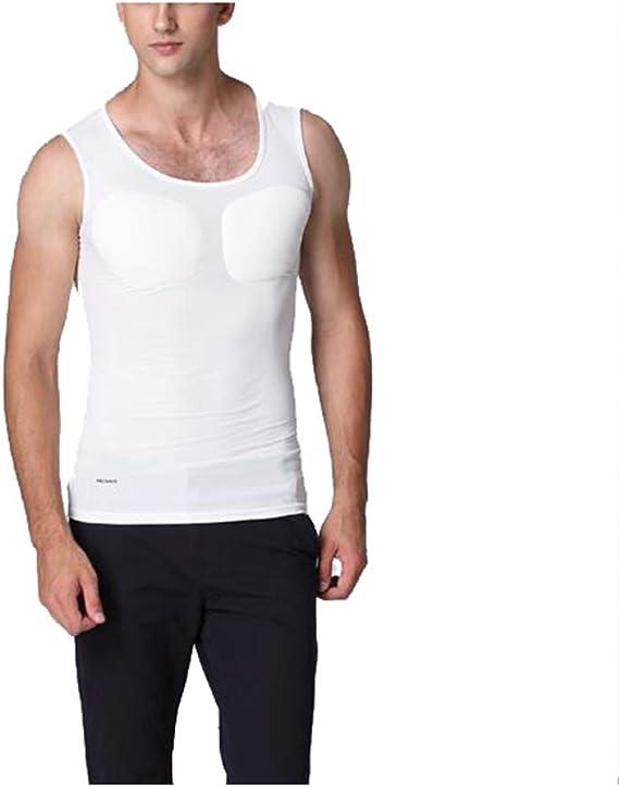 Jolie Camiseta de musculoso Falso Hombres Invisible Falso ...