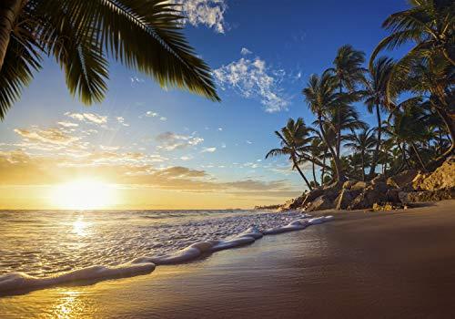 Tropische Fototapete Strand Meer XXL Design