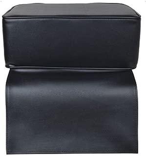 Oshion Black Child Booster Seat Cushion Barber Chair Kids Children Spa Salon Equipment