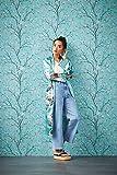 TRENDWALLS 4051315505335 - Carta da parati con fiori di ciliegio, in tessuto non tessuto con rami, naturalmente asiatico e finemente strutturato