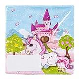 Procos 85673servizio da tavola da festa Unicorno, Tovaglioli, One size