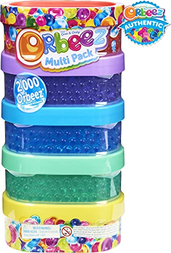 Orbeez, The One and Only, Multipack with 2,000, Non-Toxic Water Beads, Sensory Toys for Kids Aged 5 and up